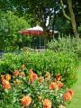 Saint-Quentin, jardin d'horticulture, le kiosque.