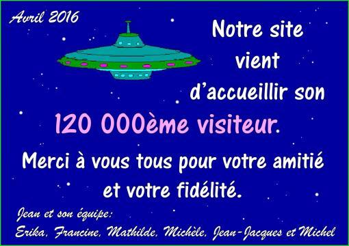 120 000eme visiteur