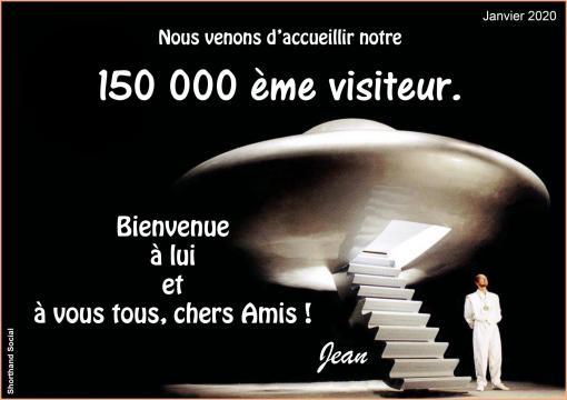 Notre 150 000 eme visiteur